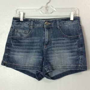 SO Womens Cotton Blend Denim Shorts Sz 9
